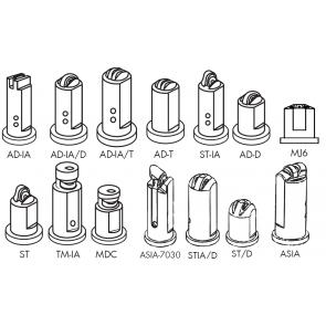 Capa Curta para Engate Rápido para Bicos da Séries ADIA / ADIA/D / ADIA/T / AD/D / AD/T / ST / ST/D / STIA / STIA/D / PBIA / TMIA / ASIA / ASIA-3070 / MDC Magnojet com Anel de Vedação (M231 + M217)
