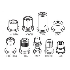 Capa Curta para Engate Rápido para Bicos da Séries MAG / MAG-CH / CV-IA / DDC / CH-100 / MGA / MCP / BXAP Magnojet com Anel de Vedação (M232 + M216/2)