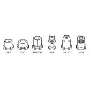 Capa Curta para Engate Rápido Padrão Jacto para Bicos das Séries MAG / DDC / MAG-CH / MCP / CH-100 / MGA  Magnojet (M234)