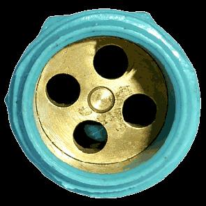 Mini Aspersor Irrigação Plástico Regulável 1/2
