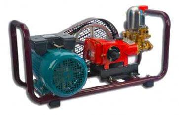 Pulverizador Estacionário com Base e Motor Elétrico Monofásico 3,0 HP Yamaho HS-30 (HS30BIMS) - Canal Agrícola