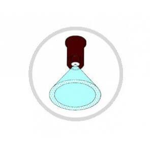 Bico de Pulverização Cerâmico Micron (HB)