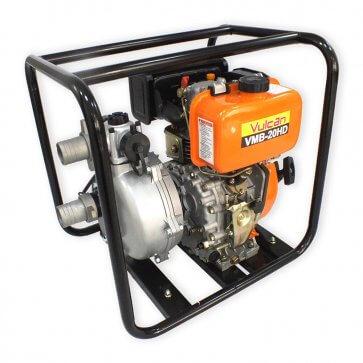 Motobomba Alta Pressão 2″ VMB 20HD Diesel - 7HP – Partida Manual - Vulcan (56945) - Canal Agrícola