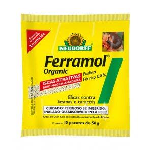 Lesmicida Natural Ferramol Neudorff 500g - Canal Agrícola