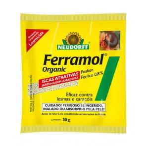 Lesmicida Natural Ferramol Neudorff  50g - Canal Agrícola