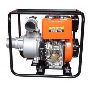 Motobomba VMBE 40D 406cc com 9HP e Partida Elétrica Diesel Vulcan (56990) - Canal Agrícola