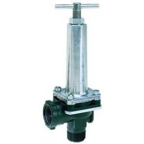 Válvula de Regulagem e Alívio de Pressão Tipo Diafragma TeeJet (8460) - Canal Agricola