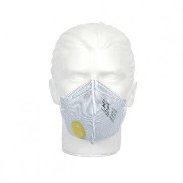 Respirador Mask Face PFF2 VO Valvulado Air Safety (511001043) - Canal Agrícola