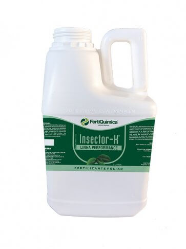Fertilizante Foliar Fisioativador Insector K 5 Litros Fertiquímica - Canal Agrícola