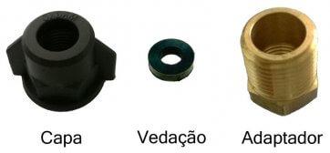 Kit para Uso de Bicos Convencionais em Pulverizadores Yamaho série FT Exceto FT-5 (KIT02) - Canal Agrícola