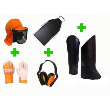 Kit de segurança para Roçador Tecmater (516.001.005) - Canal Agrícola