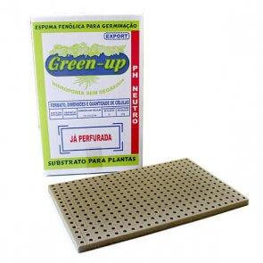 Espuma Fenólica para Tomate e Folhosas - Green Up - Caixa com 15 placas de 345 células