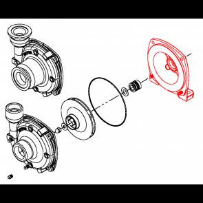 Carcaça Traseira para Bomba Centrífuga 9303 - Ferro Fundido - Furada - Hypro (0750-9300C4)