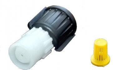 Bico de pulverização regulável Guarany com filtro para pulverizadores costais (U8118.00.00) - Canal Agrícola
