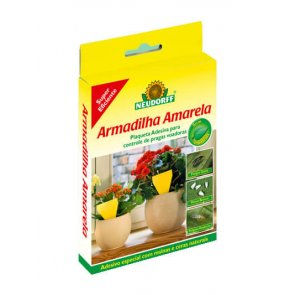 Armadilha Adesiva para Insetos Neudorff 10 Placas Pequenas - Canal Agrícola