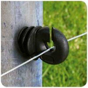 Isolador Anel com Suporte Curto - Pacote 25 unidades - Cerca Elétrica Rural - Patriot - Canal Agrícola