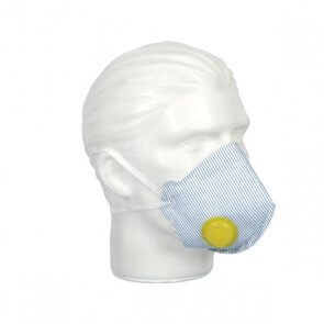 Respirador Mask Face PFF2 VO Valvulado Air Safety (511.001.051)