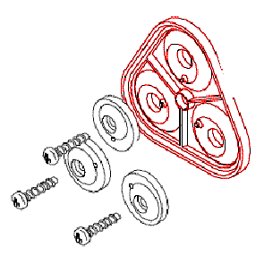 Diafragma Bomba Hypro ShurFlo Série 8000 (94-395-06)