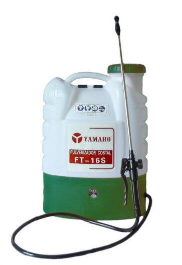 Pulverizador Costal Elétrico à Bateria Recarregável Yamaho FT-16 - 16 Litros - Novo Modelo (16000) - Canal Agrícola