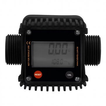 Medidor Digital para Diesel Rosca 1 pol BSP 120 l/min - Canal Agrícola