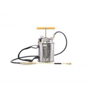 Pulverizador Costal de Compressão Prévia Inox com Manômetro 7,6 Litros - Super 2S Guarany (0441.23.00)
