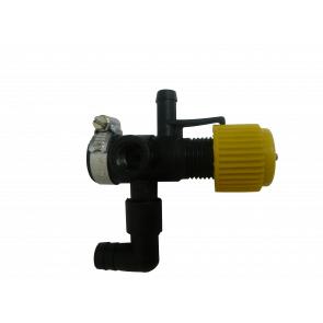 Válvula Reguladora de Pressão com Manômetro e Espigão Micron (CJT0025)