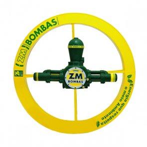 Roda D'água 1,00x0,15m com bomba de 2.600 à 13.000 L/dia e 130 à 190m de Altura ZM-44  (200676) - Canal Agrícola