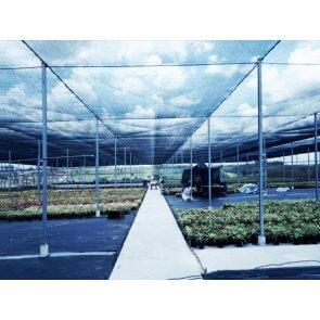 Tela de Sombreamento Ecosombra Preta 30% - Bobina - Ráfia - 21 g/m2 - Ginegar/Polysack