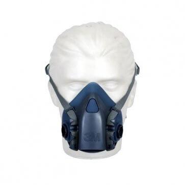 Respirador Semi-Facial Silicone REF7502 3M (511001040) - Canal Agrícola