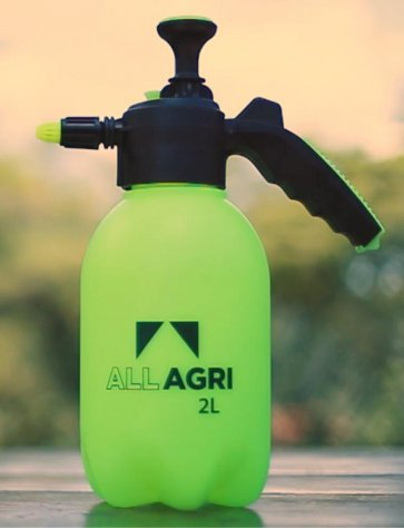 Pulverizador Manual de Compressão Prévia All Agri 2 Litros - Canal Agrícola