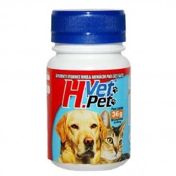 Vitamina para Cães e Gatos H.Vet. Pet Alivet - Canal Agrícola