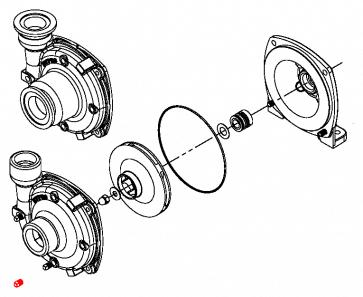 Parafuso para Carcaça da Bomba Centrífuga de Ferro Fundido - Bujão Dreno - Hypro (2406-0007)  - Canal Agrícola