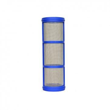 Elemento Filtrante em Aço Inox Sem Aneis Azul Malha 50 - Canal Agrícola