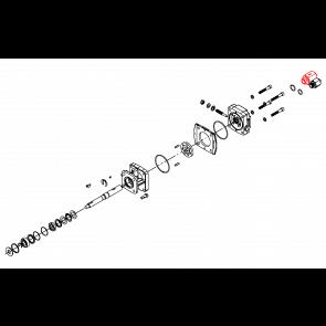 Parafuso de Saída - Saída para Tanque - Motor Hidráulico - Hypro (3320-0051A) - Canal Agrícola