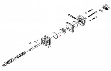 Pino para Carcaça do Motor Elétrico HM1C - Hypro (1600-0044) - Canal Agrícola