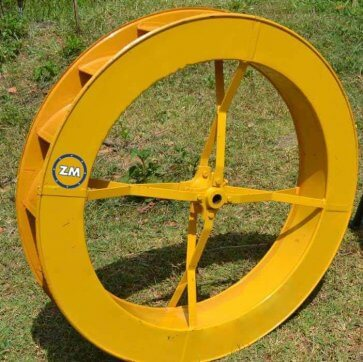 Roda D-água de 1,00x0,15m (D29,2) para Bombas 1P-38 ZM e 44 ZM (5100106) - Canal Agrícola