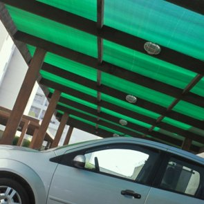 Tela Sombrite 1008 Verde/Preta 75% - Bobina 3,0x50m - Monofilamento - Garantia de 10 anos - Equipesca