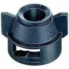 Capa Quick TeeJet com anel de vedação para engate rápido para bicos da séries Disco D / Difusor / TXB / AITXB