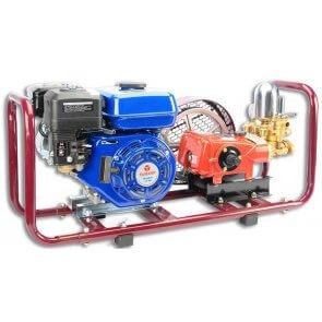 Pulverizador Estacionário com Base e Motor à Gasolina 5,5 HP Yamaho HS-30 (HS30BIMM5) - Canal Agrícola