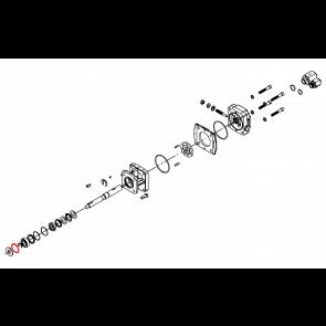 Anel de Retenção para Bomba Centrifuga(Kit com 10 unidades) - Motor Hidráulico - Hypro (1820-0013)